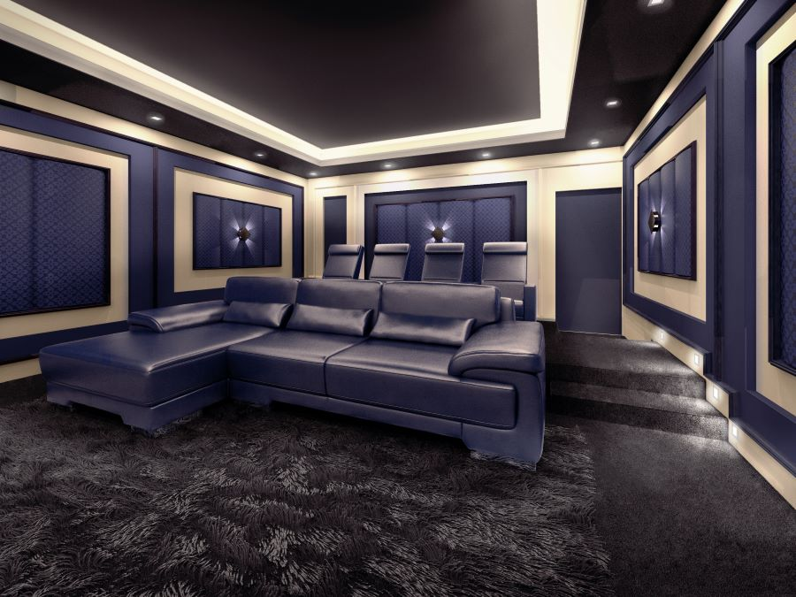 5 Benefits of Custom Home Theaters