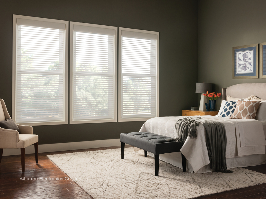 Enjoy Hassle-Free Control with Lutron Motorized Blinds