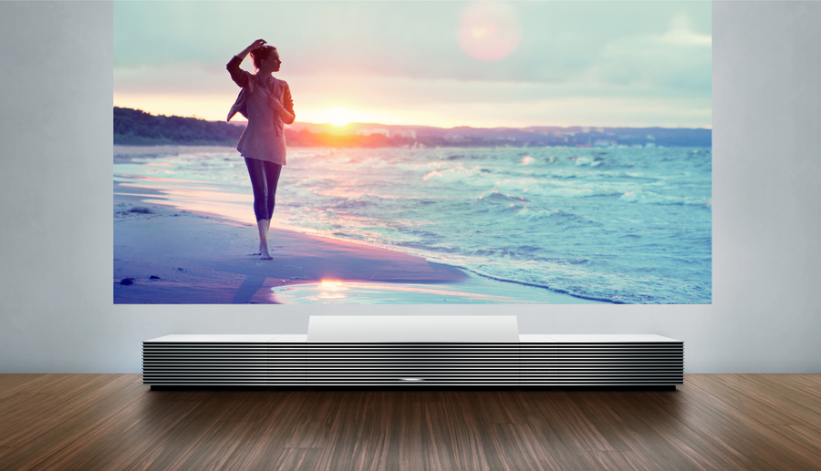 Ultra-Short-Throw Projectors for Home Theater Installation